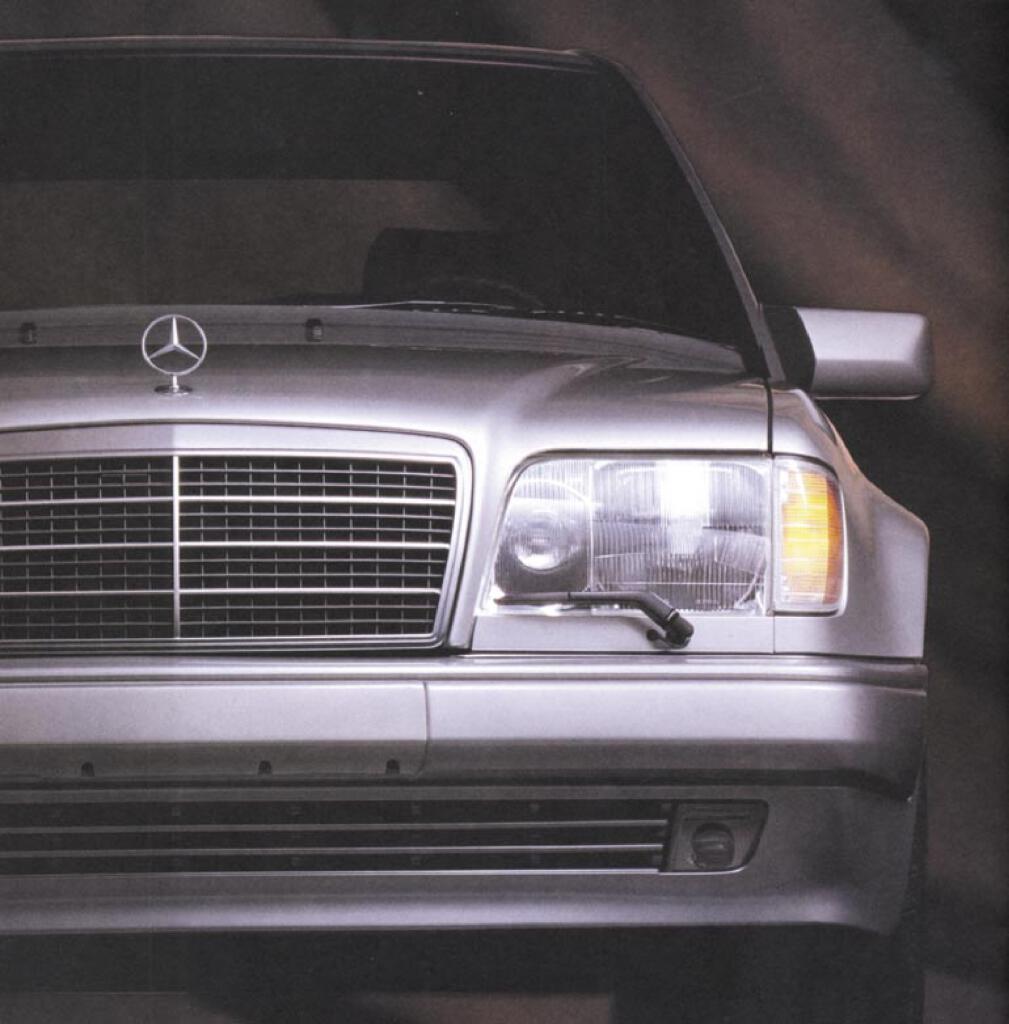 MERCEDES W 124 e 200 Cabriolet prospetto 1994 2//94 auto prospetto brochure OPUSCOLO