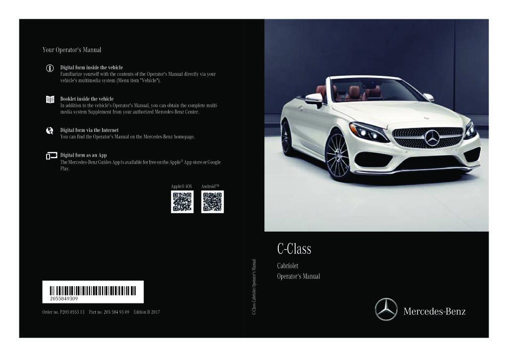 sainchargny.com Mercedes-Benz C-Klasse W 205 2016 2017 ...