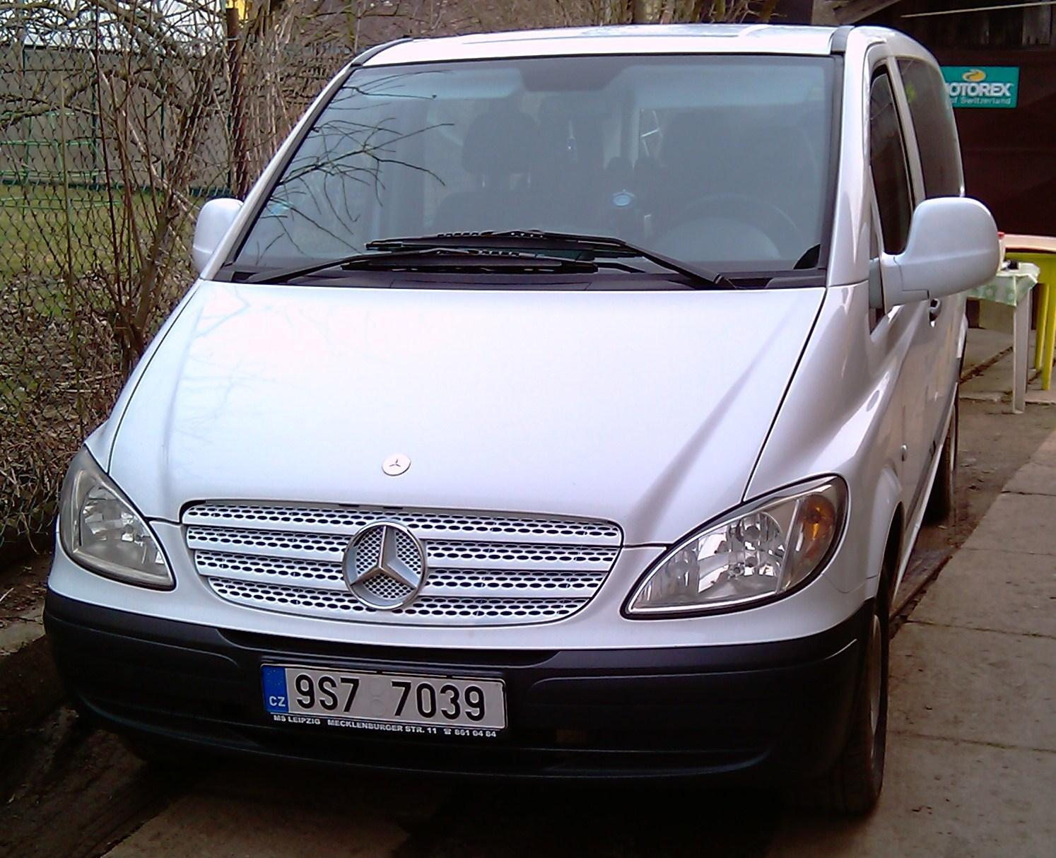 2004 mercedes benz w639 vito 2 1 131 cui diesel 80 kw for Mercedes benz club