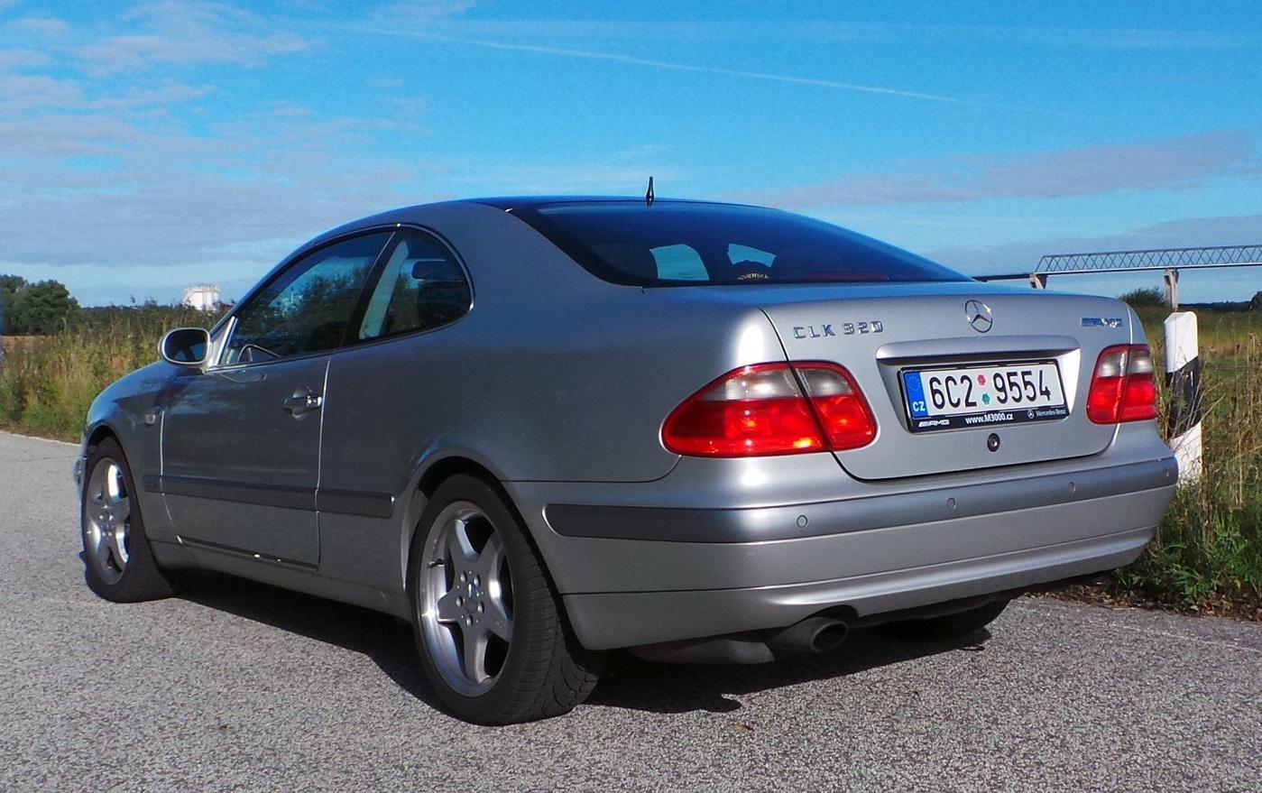 1998 mercedes benz w208 clk 3 2 195 cui v6 gasoline 160 for Mercedes benz club