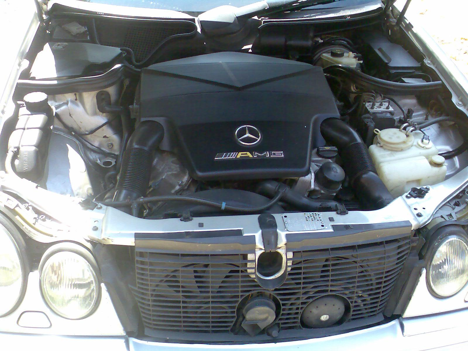 Car detail - Mercedes Benz